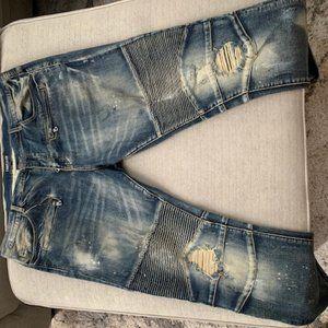 EMBELLISH Motto Mens Jeans